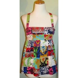 New J. Crew Talitha patchwork Top babydoll 2 XSNWT for sale